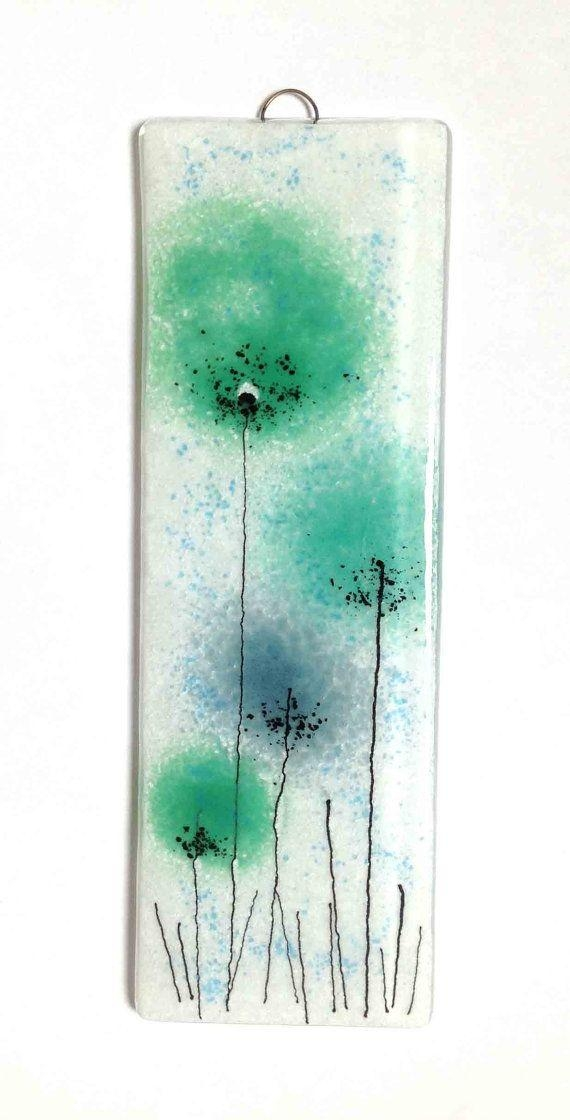 25+ Best Glass Wall Art Ideas On Pinterest | Glass Art, Fused Regarding Glass Wall Art Panels (Image 3 of 20)