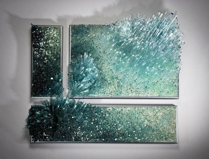 25+ Best Glass Wall Art Ideas On Pinterest | Glass Art, Fused With Regard To Fused Glass Wall Art Hanging (View 15 of 20)