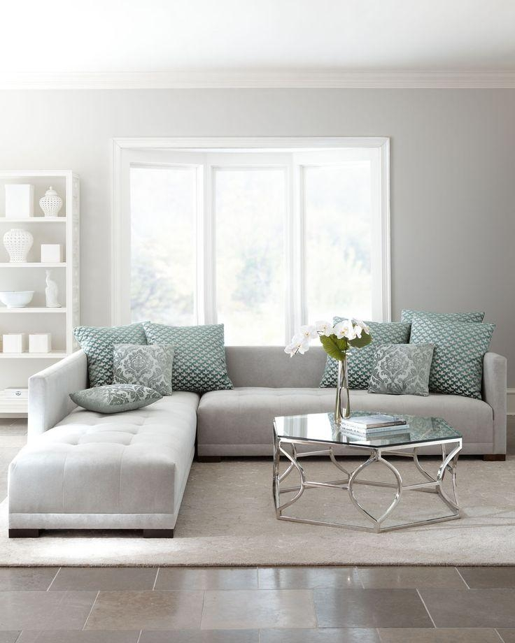 25+ Best Grey Couch Rooms Ideas On Pinterest | Grey Living Room Intended For Living Room With Grey Sofas (Image 1 of 20)