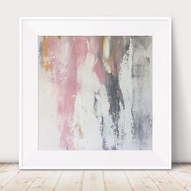 25+ Best Grey Wall Art Ideas On Pinterest | Gray Living Room Walls For Pink And Grey Wall Art (View 2 of 20)