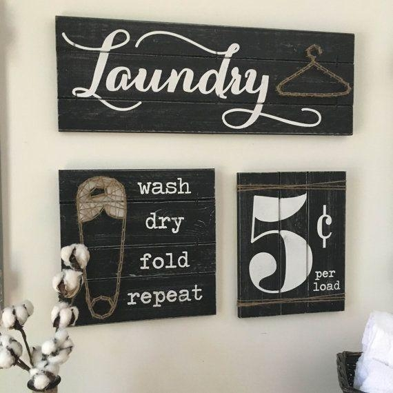 25+ Best Laundry Decor Ideas On Pinterest | Laundry Room Small Inside Laundry Room Wall Art Decors (View 11 of 20)