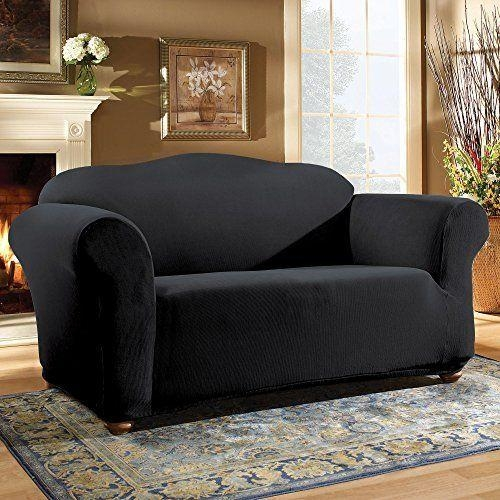 25 Best Loveseat Slipcovers Images On Pinterest | Loveseat In Sofa And Loveseat Covers (Photo 15 of 20)