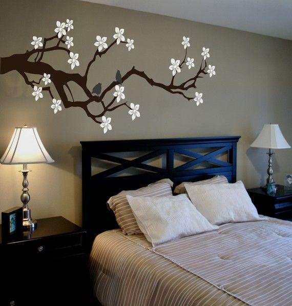 25+ Best Painted Wall Art Ideas On Pinterest | Orange Wall Paints In Painted Trees Wall Art (View 7 of 20)