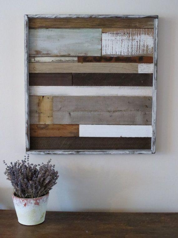 25+ Best Reclaimed Wood Art Ideas On Pinterest | Pallet Wall Art Within Natural Wood Wall Art (Image 5 of 20)
