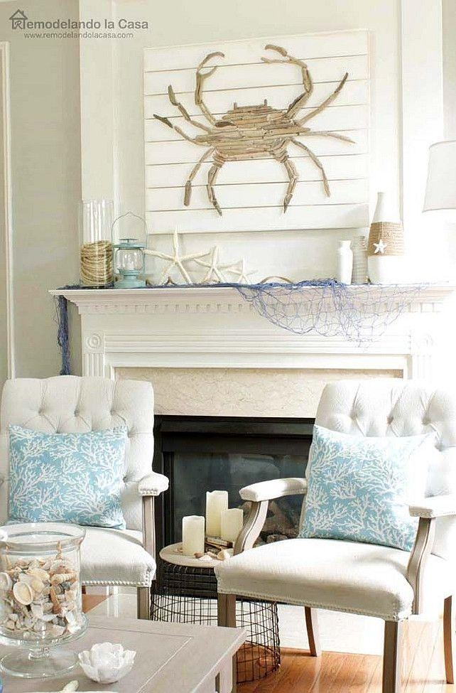 25+ Best Rustic Beach Houses Ideas On Pinterest | Rustic Beach Pertaining To Beach Cottage Wall Decors (Image 4 of 20)