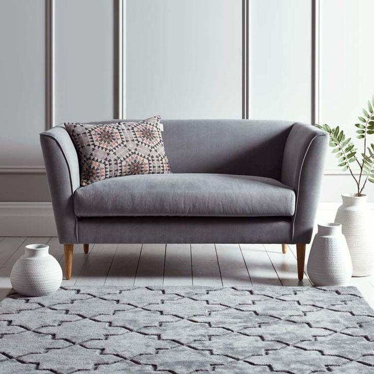 Best 25 Gray Couch Decor Ideas On Pinterest: 20+ Small Grey Sofas