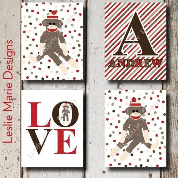 25+ Best Sock Monkey Decor Ideas On Pinterest | Sock Monkey Party Pertaining To Sock Monkey Wall Art (View 3 of 20)