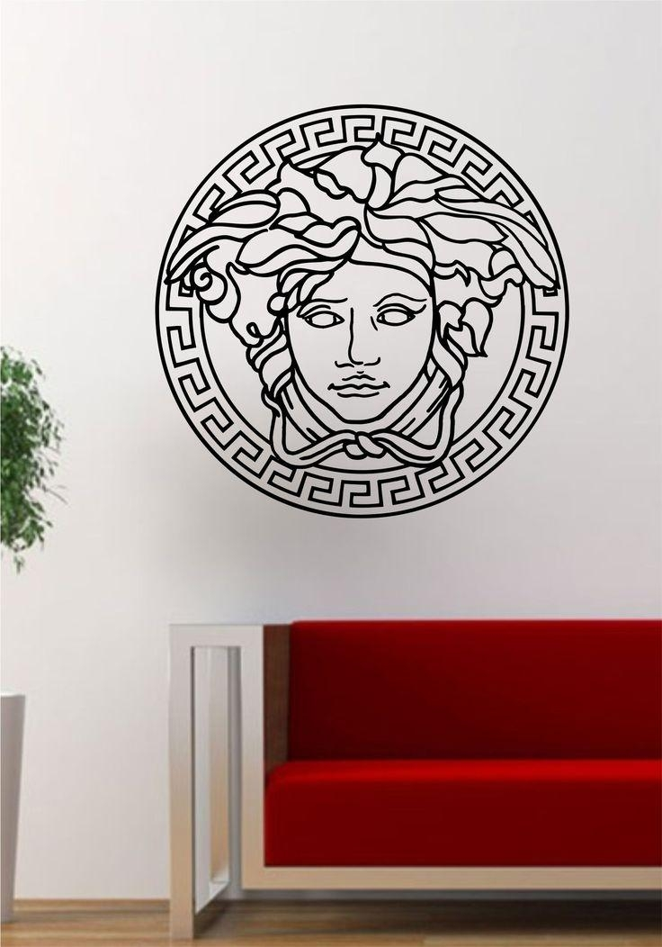 25+ Best Versace Logo Ideas On Pinterest | Fashion Fonts, Versace Intended For Versace Wall Art (Image 1 of 20)