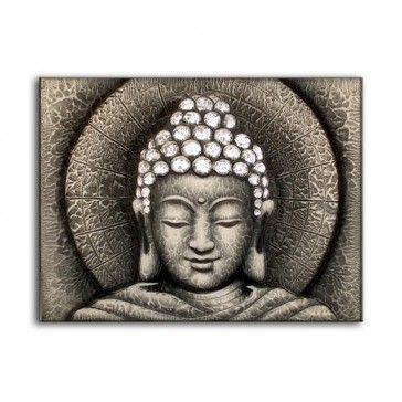 25 Best Wall Art Images On Pinterest | Buddha Wall Art, Buddha For Silver Buddha Wall Art (Image 2 of 20)