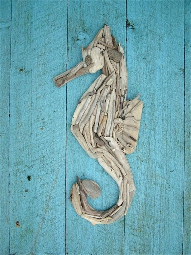 25 Diy Driftwood Ideas | Diy To Make Intended For Driftwood Wall Art (Image 1 of 20)