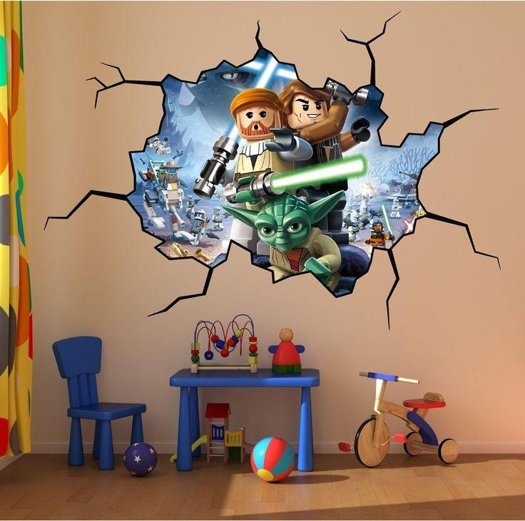 25+ Melhores Ideias De Cracked Wall Somente No Pinterest | Textura In Lego Star Wars Wall Art (View 10 of 20)