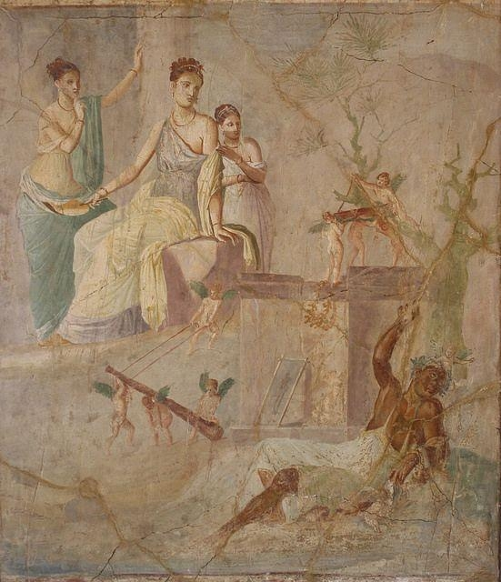 254 Best Ancient Fresco Images On Pinterest | Fresh, Pompeii And For Ancient Greek Wall Art (Image 4 of 20)
