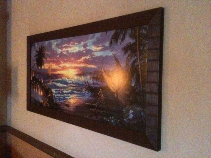 26 Best Art Styles At Disney Polynesian Resort Images On Pinterest For Polynesian Wall Art (Image 4 of 20)