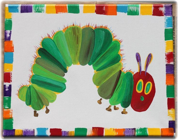 26 Best Nursery Ideas Images On Pinterest | Very Hungry For Very Hungry Caterpillar Wall Art (Image 1 of 20)