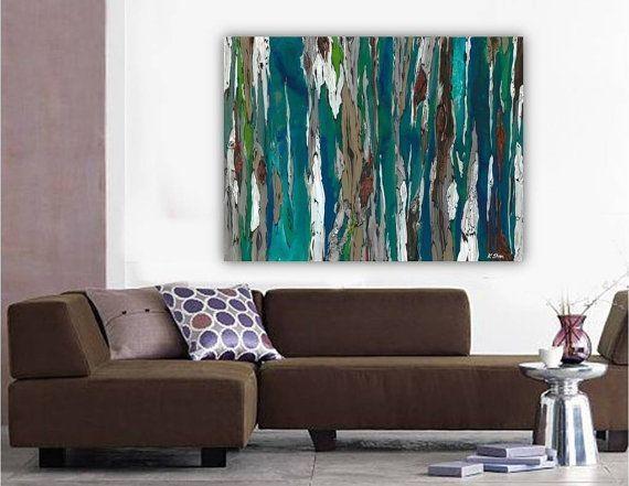 26 Best Tree Art Images On Pinterest | Tree Art, Tree Paintings With Oversized Wall Art Contemporary (View 20 of 20)