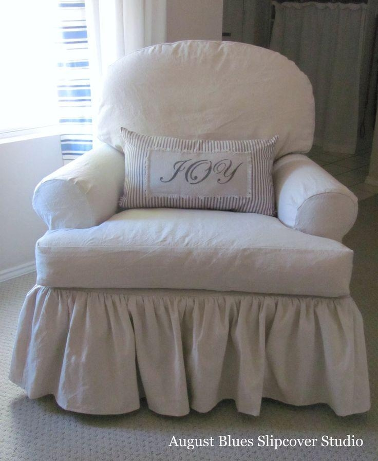 264 Best Slipcover Chairs Images On Pinterest | Custom Slipcovers Within Shabby Slipcovers (Image 4 of 20)