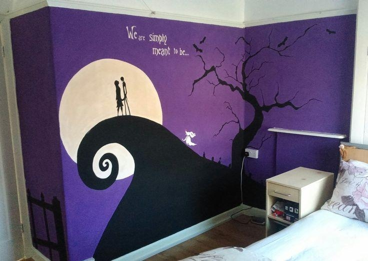 267 Best Diy Tim Burton Images On Pinterest | Jack Skellington With Tim Burton Wall Decals (Image 3 of 20)