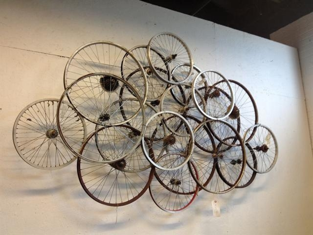268 Best Bike Recycling Images On Pinterest | Bicycle Parts With Regard To Bicycle Wall Art Decor (Image 2 of 20)