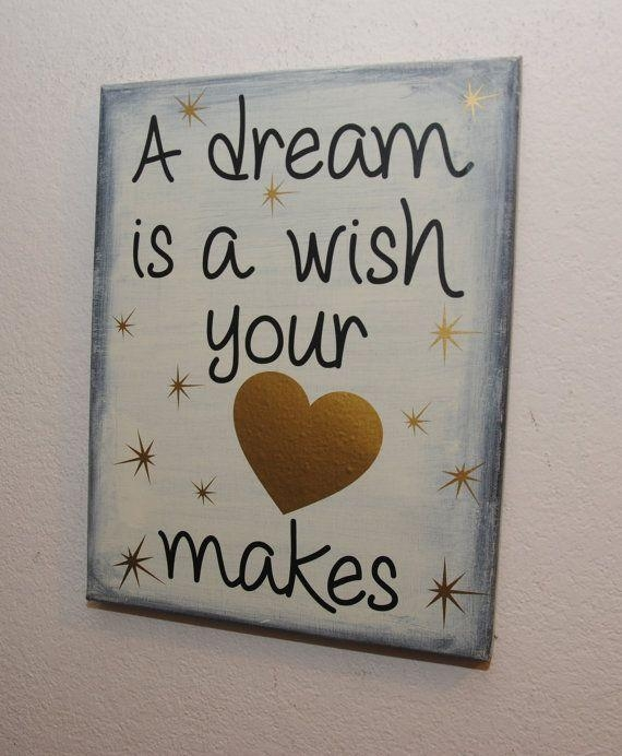 268 Best Quotes Images On Pinterest | Canvas Ideas, Diy Canvas And Throughout Disney Canvas Wall Art (Image 3 of 20)