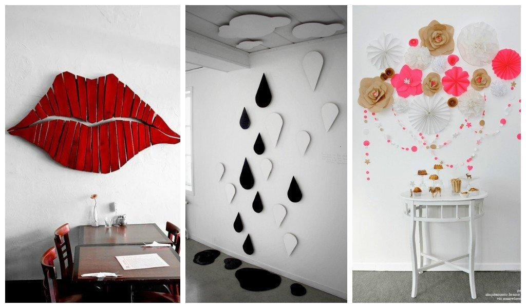 27 Amazing Diy 3D Wall Art Ideas Throughout 3D Wall Art (View 10 of 20)