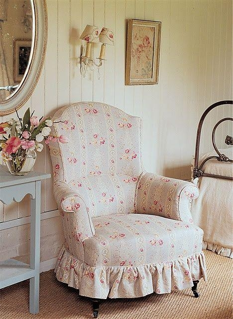 271 Best Craft ~ Slipcovers Images On Pinterest | Armchair, Chairs Within Shabby Chic Sofas Covers (Image 3 of 20)