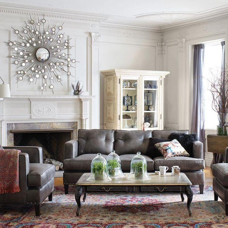 28 Best Leather Furniture Images On Pinterest | Leather Furniture For Arhaus Leather Sofas (Image 3 of 20)