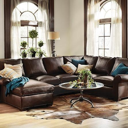 28 Best Leather Furniture Images On Pinterest | Leather Furniture In Arhaus Leather Sofas (Image 5 of 20)