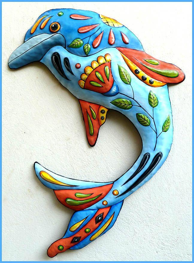 28 Best Tropical Fish – Decorative Tropical Fish Wall Décor Images With Regard To Dolphin Metal Wall Art (Image 4 of 20)