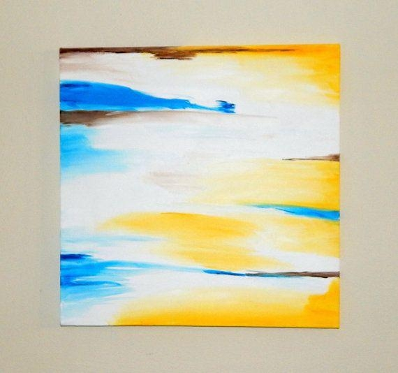 28 Best Wall Art Images On Pinterest | Large Wall Art, Large Walls Pertaining To Yellow And Blue Wall Art (Image 1 of 20)