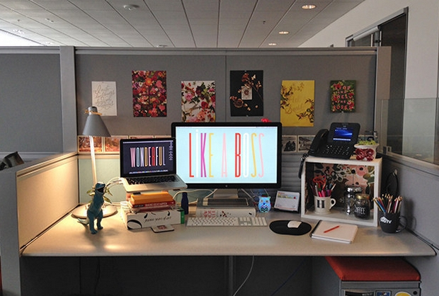 28 Cubicle Decor Diy Ideas! Pertaining To Cubicle Wall Art (Image 1 of 20)