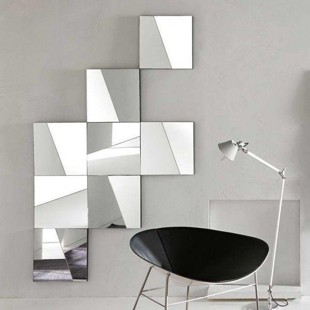 28 Unique And Stunning Wall Mirror Designs For Living Room | Wall Inside Mirrors Modern Wall Art (Image 1 of 20)