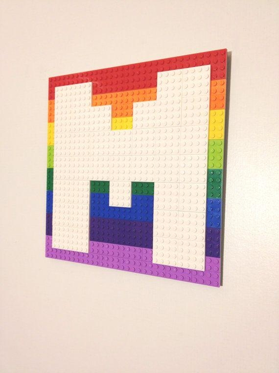 29 Best Lego Pixel Art Images On Pinterest | Lego Ideas, 8 Bit And In Pixel Mosaic Wall Art (Image 1 of 20)