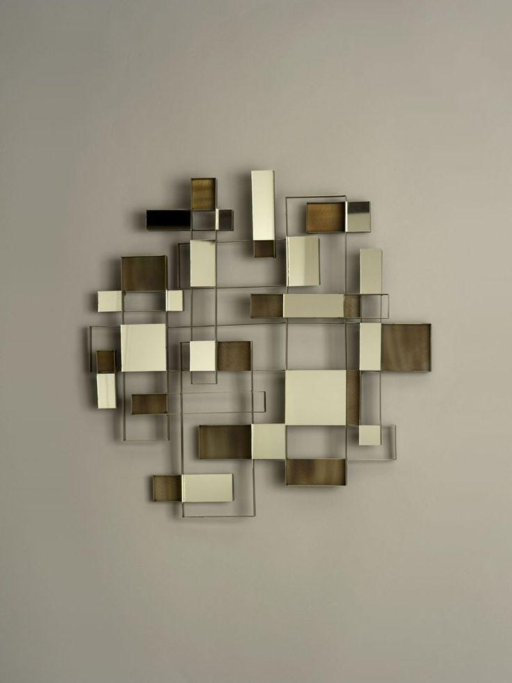29 Best Mirrors Images On Pinterest | Mirror Mirror, Mirror Art Pertaining To Contemporary Mirror Wall Art (Image 1 of 20)