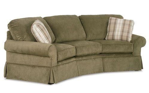 3 Cushion Curved Conversation Sofa — Crofton Sofa | Sofas For Clayton Marcus Sofas (Image 1 of 20)