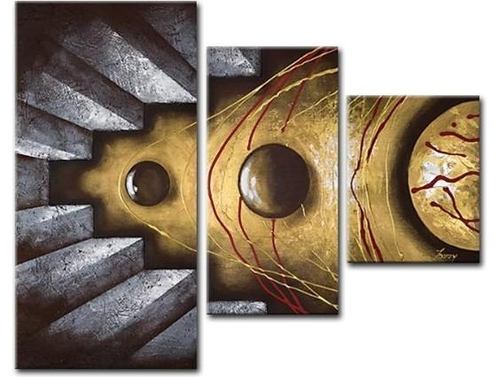 3 Piece Wall Art – Affordable Canvas Art Sets – Free Shipping Inside Three Piece Wall Art Sets (Image 1 of 20)
