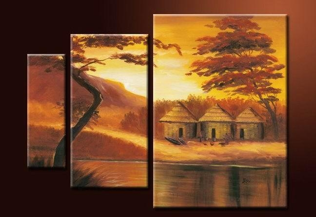 3 Piece Wall Art – Affordable Canvas Art Sets – Free Shipping Pertaining To 3 Piece Wall Art Sets (View 6 of 20)