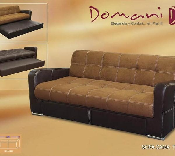 3 Position Sofa Bed Chocolate With Trundle Trenton | Mr Vallarta's With Regard To Sofa Beds With Trundle (Image 1 of 20)
