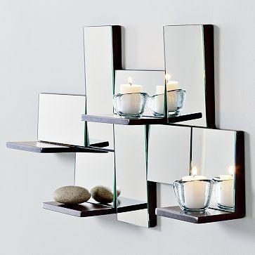 30 Best Mirrors Images On Pinterest | Mirrored Walls, Mirror Wall Regarding Contemporary Mirror Wall Art (Image 2 of 20)