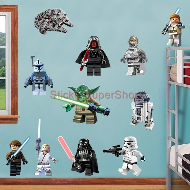 30 Best Star Wars Bedroom For Ben Images On Pinterest | Lego Star With Regard To Lego Star Wars Wall Art (Image 4 of 20)