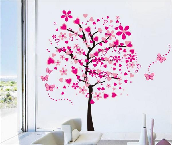 31+ Amazing 3D Wall Art Ideas That You Would Want To Take Home With Regard To Pink Butterfly Wall Art (Image 3 of 20)