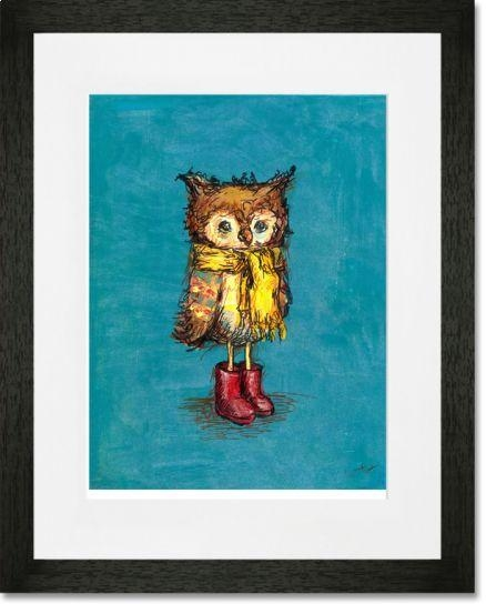 31 Best Framed Prints For Children Images On Pinterest | Canvas With Owl Framed Wall Art (Image 3 of 20)