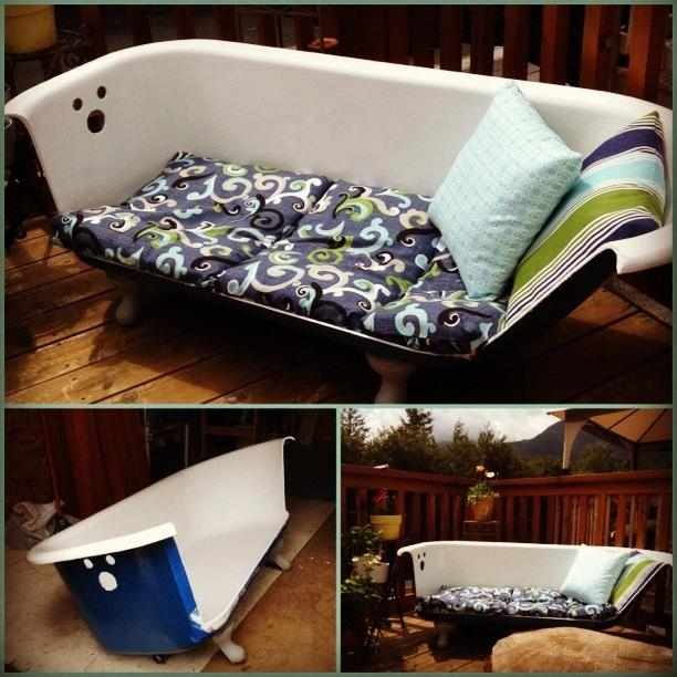 31 Best My Claw Foot Tub/couch Obsession! Images On Pinterest Intended For Clawfoot Tub Sofas (Image 3 of 20)