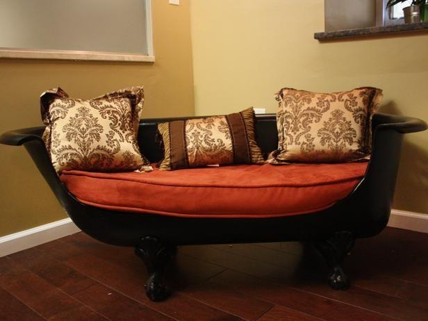 31 Best My Claw Foot Tub/couch Obsession! Images On Pinterest Within Clawfoot Tub Sofas (Image 5 of 20)