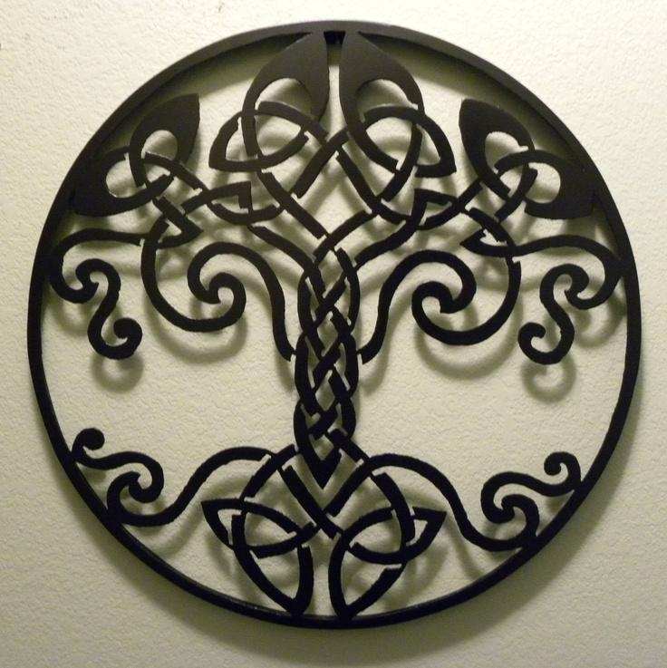 31 Best Tree Of Life Images On Pinterest | Celtic Tree Of Life Regarding Celtic Tree Of Life Wall Art (Image 3 of 20)