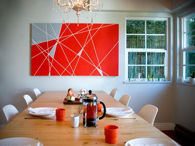 31 Diy Wall Art Ideas You Can Do In Less Than Two Hours Within Vibrant Wall Art (View 11 of 20)