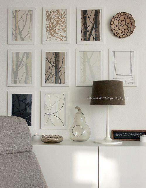 310 Best Gallery Walls Images On Pinterest | Gallery Walls Within Autumn Inspired Wall Art (View 3 of 20)