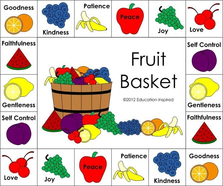 314 Best Fruit Of The Spirit Crafts Images On Pinterest | Fruit Of In Fruit Of The Spirit Artwork (Image 4 of 20)