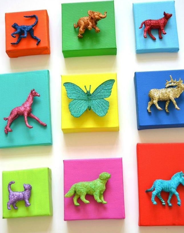 32 Best 3D Wall Art Images On Pinterest | Diy, Projects And Home Intended For Childrens Wall Art Canvas (View 20 of 20)