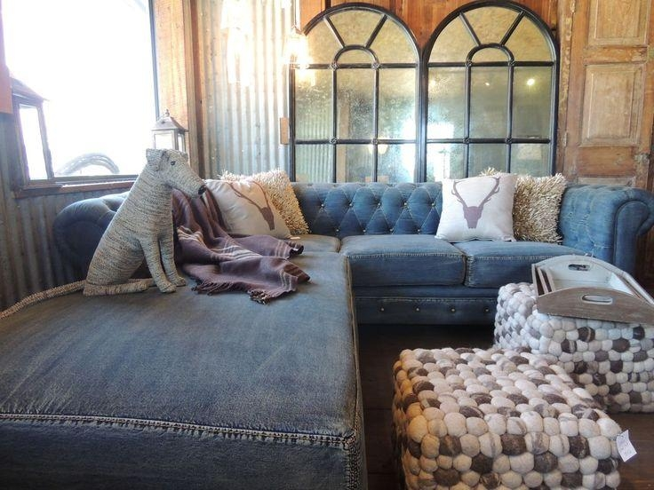 32 Best Denim Furniture Images On Pinterest | Denim Furniture With Regard To Blue Jean Sofas (Image 2 of 20)