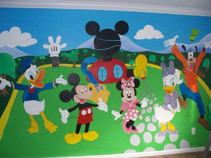 32 Best Mickey N Minnie Mouse Images On Pinterest | Minnie Mouse With Mickey Mouse Clubhouse Wall Art (Image 6 of 20)